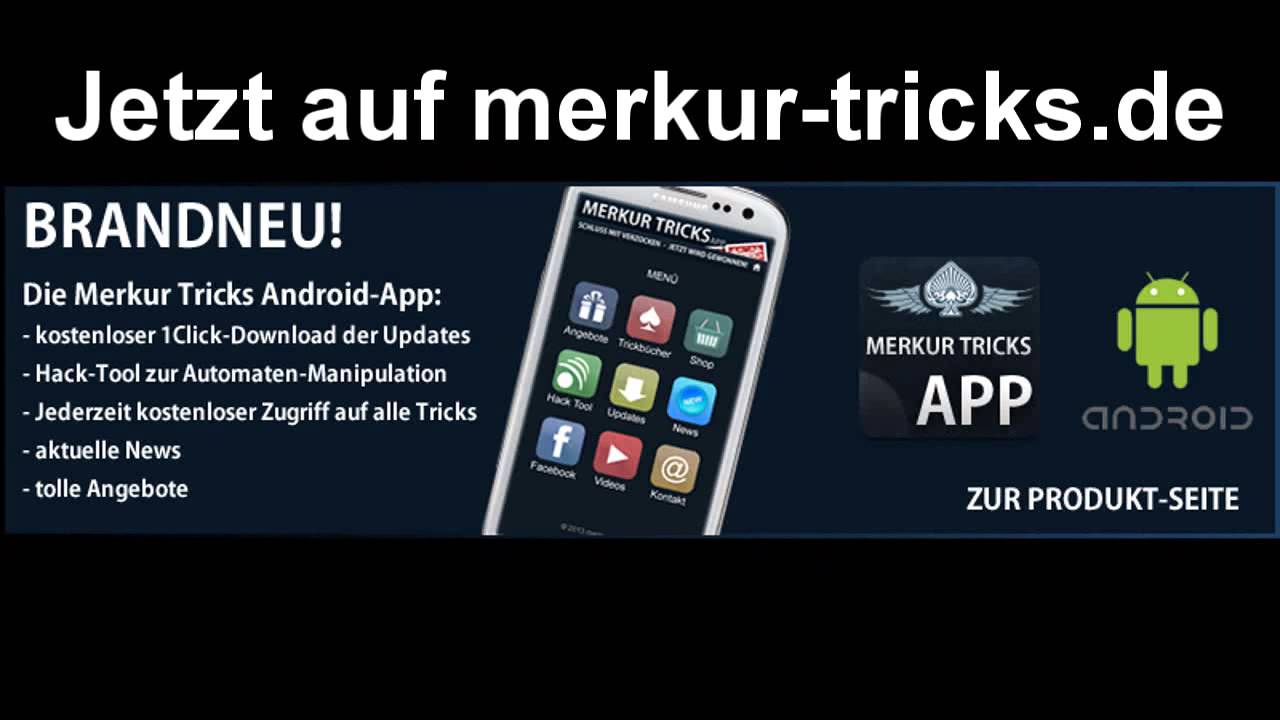 Merkur Tricks App Free Download