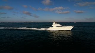 2000 80' Expedition Power Catamaran yacht for sale.  Global voyager
