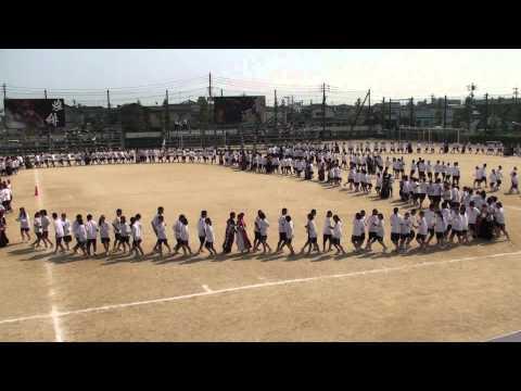 2014 09 11 北高体育祭  フォークダンス アンコール