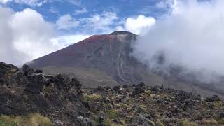 Mount Nguaruhoe/Mt. Doom in all its glory!- south crater, New Zealand
