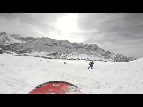Passo del tonale snowboard
