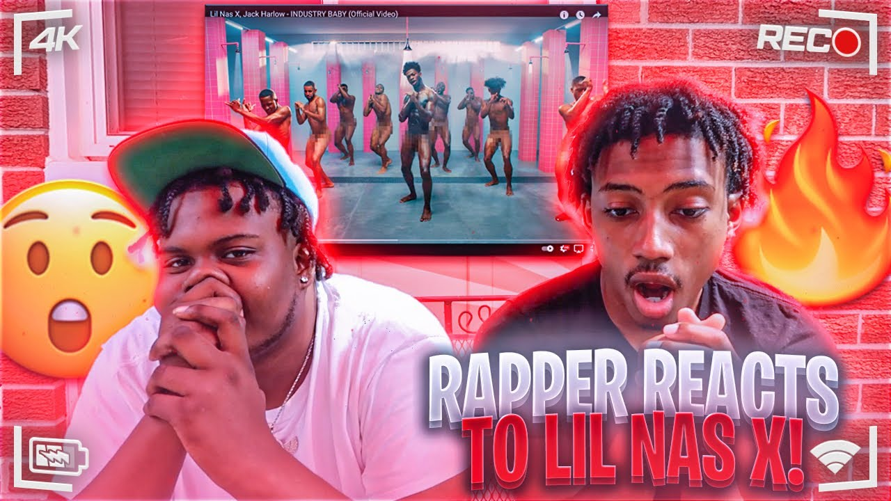 Rapper Reacts To Lil Nas X, Jack Harlow - INDUSTRY BABY (Official Video)