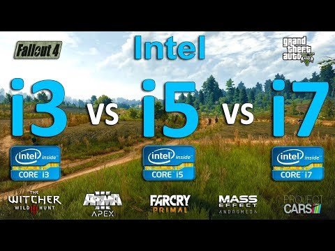 Intel I3 Vs I5 Vs I7 Test In 7 Games