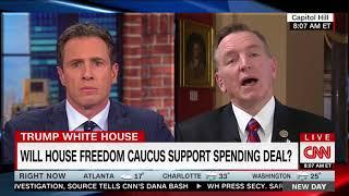Rep. Gosar debates CNN's Chris Cuomo on DACA