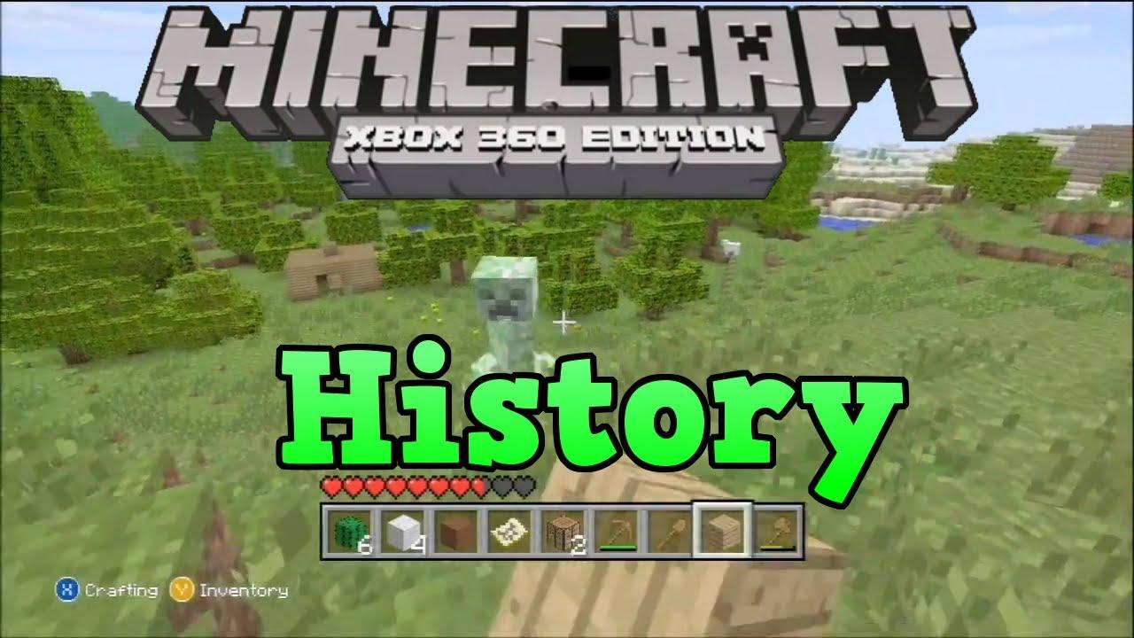 History of Minecraft Xbox 360 and Console Edition (TU1, TU2, TU5 etc)