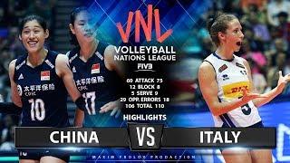 China vs Italy | Highlights | Women