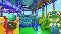 Party Bus For Children | Double Decker Indoor Playground | Gecko's Real Vehicles