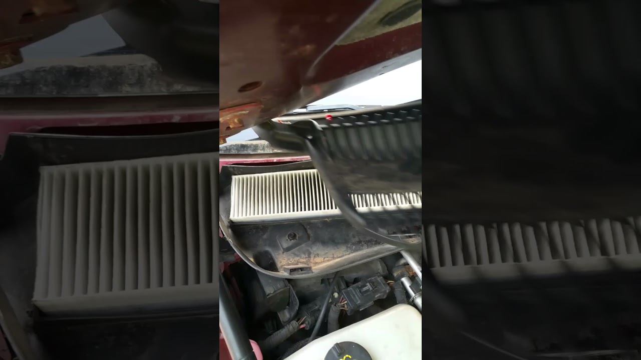 Cabin Air Filter 2003 Lincoln Town Car Youtube