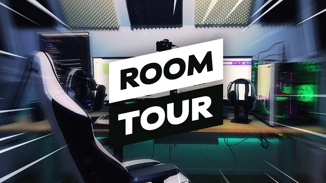 Mein Gaming Zimmer Pc Roomsetup Tour Youtube