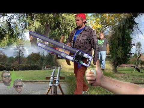 DIY Air Cannon!!