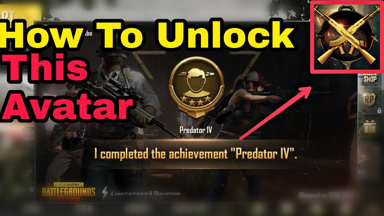 This Is How I Unlocked The Domination Avatar In Pubg Mobile Youtube