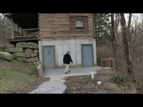 Log Cabin Basement