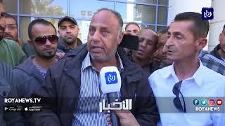 موظفين في أمانة عمّان ينفذون اضرابا عن العمل - (25-3-2018)