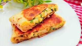 Egg recipe / Recette d'œuf - Idée dîner facile et rapide