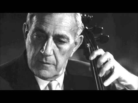 Jules Eskin talks about Gregor Piatigorsky