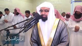 شاهد محاججة الكافرين تلاوة مؤثرة للشيخ ناصر القطامي لأواخر سورة سبأ | رمضان 1437هـ