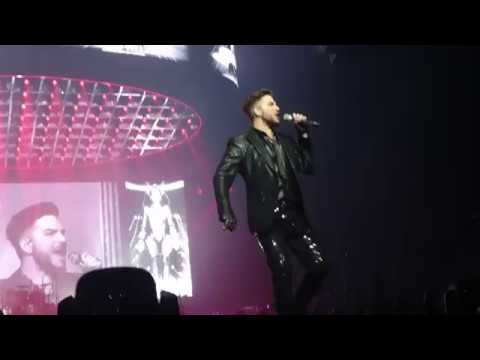 """Radio Gaga"" Brisbane Feb24.2018 Queen+Adam Lambert"