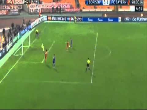 BATE Borisov 3 - 1 Bayern Munchen