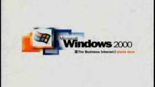 Windows 2000 Startup Animation