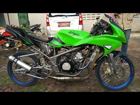 Modifikasi Kawasaki Ninja Rr Hijau 2013 Knjj