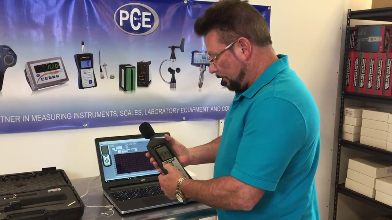 How to Use the Sound Level Meter PCE-322A
