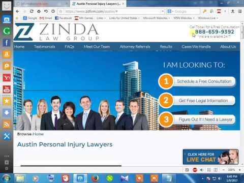 42Personal injured attorney austin