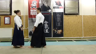 gyakuhanmi katatedori shihonage [TUTORIAL] Aikido empty hand technique: