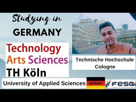 TH Köln – Technische Hoschschule Köln - University Of Technology, Arts, Sciences