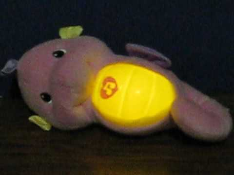 Sale Item Demo - Fisher Price Soothe and Glow Seahorse