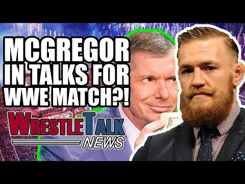 Conor McGregor IN TALKS For WWE Match! Ronda Rousey Teases WWE MOVE! | WrestleTalk News Oct. 2017