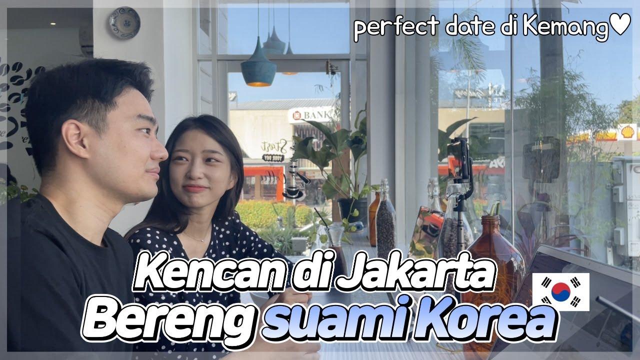 Pasangan Korea jalan-jalan di Kemang, tempat hitsnya anak Jakarta! l MUKBANG! coba makanan Indonesia