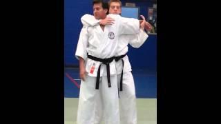 Heian Yondan Bunkai - Shotokan Karate, Haiwan, Juji Uke