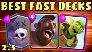 2.5 ELIXIR CYCLE DECKS :: Clash Royale :: FAST Decks That WIN!