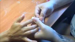 Как правильно приклеить типсы(Поставка типсов с контактной зоной на ногти,для последующего наращивания. http://vk.com/club71087813., 2014-08-28T22:09:43.000Z)
