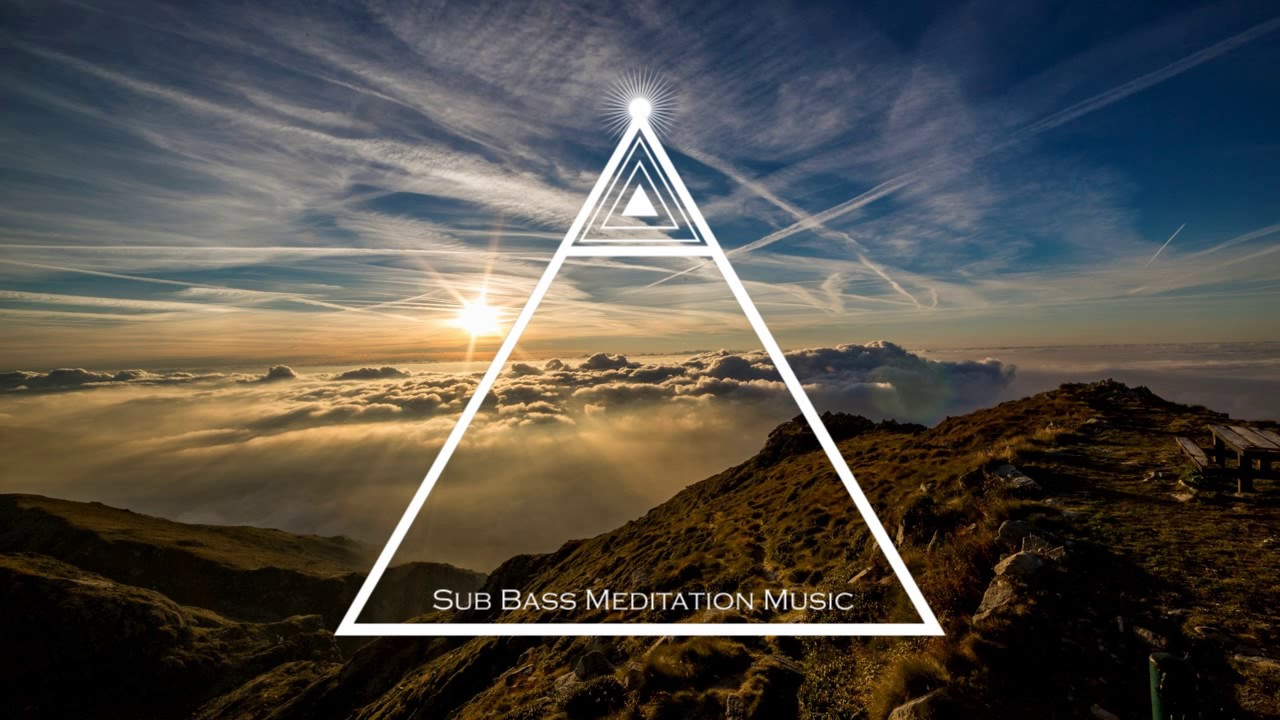 Relaxing Music with Deep Bass Pulsation - Meditation Music for Relaxation,  Calming Music