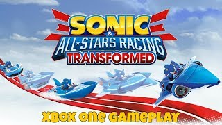Sonic All Stars Racing Transformed - Xbox One Gameplay