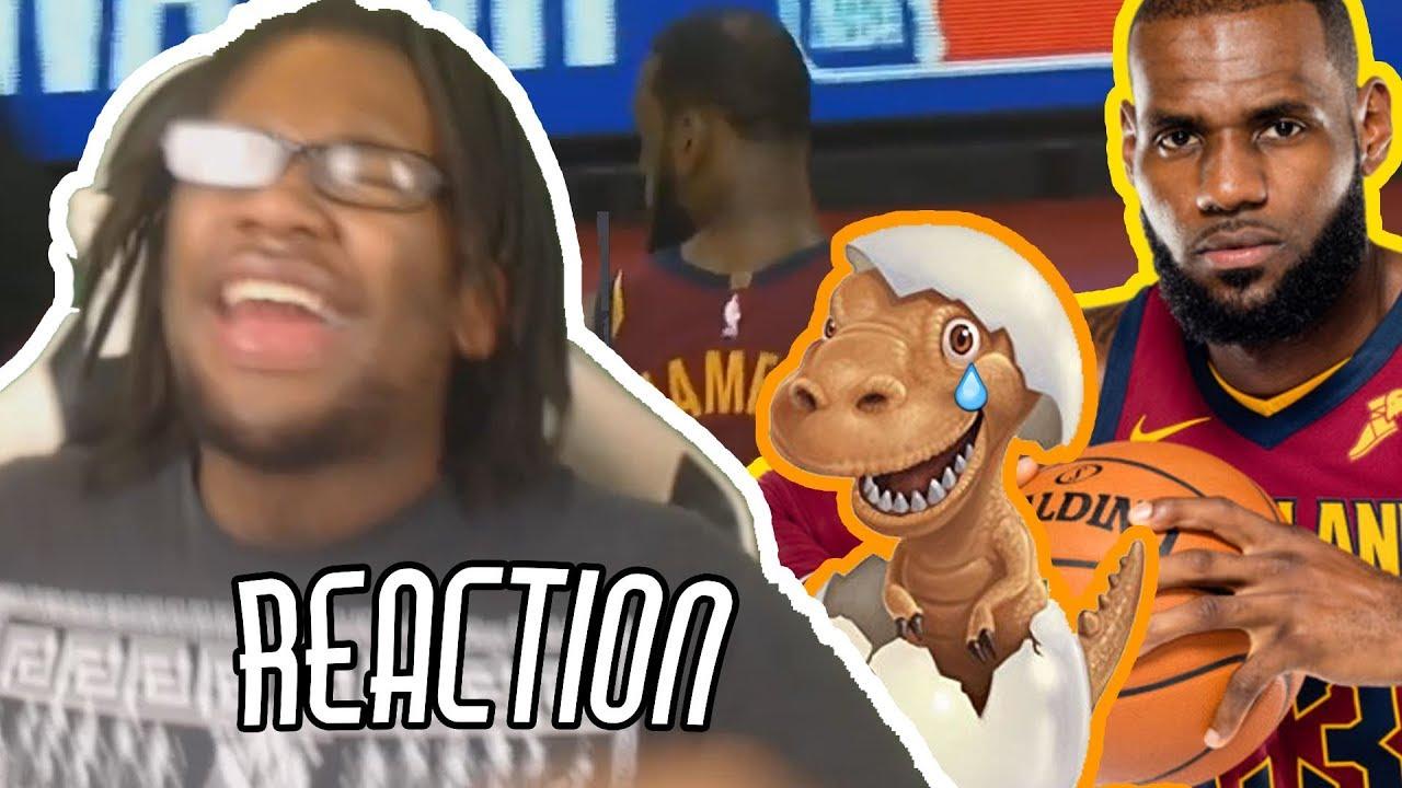 876b5b9e2df2 LeBron James Shows Drake  Toronto Crowd He Is The Raptors Killer! REACTION!