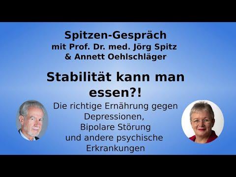 Wege zur psychischen Stabilität - Annett Oehlschläger und Prof. Dr. Jörg Spitz über Bipolare Störung