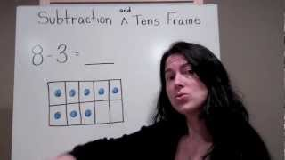 Subtraction on the Tens Frame