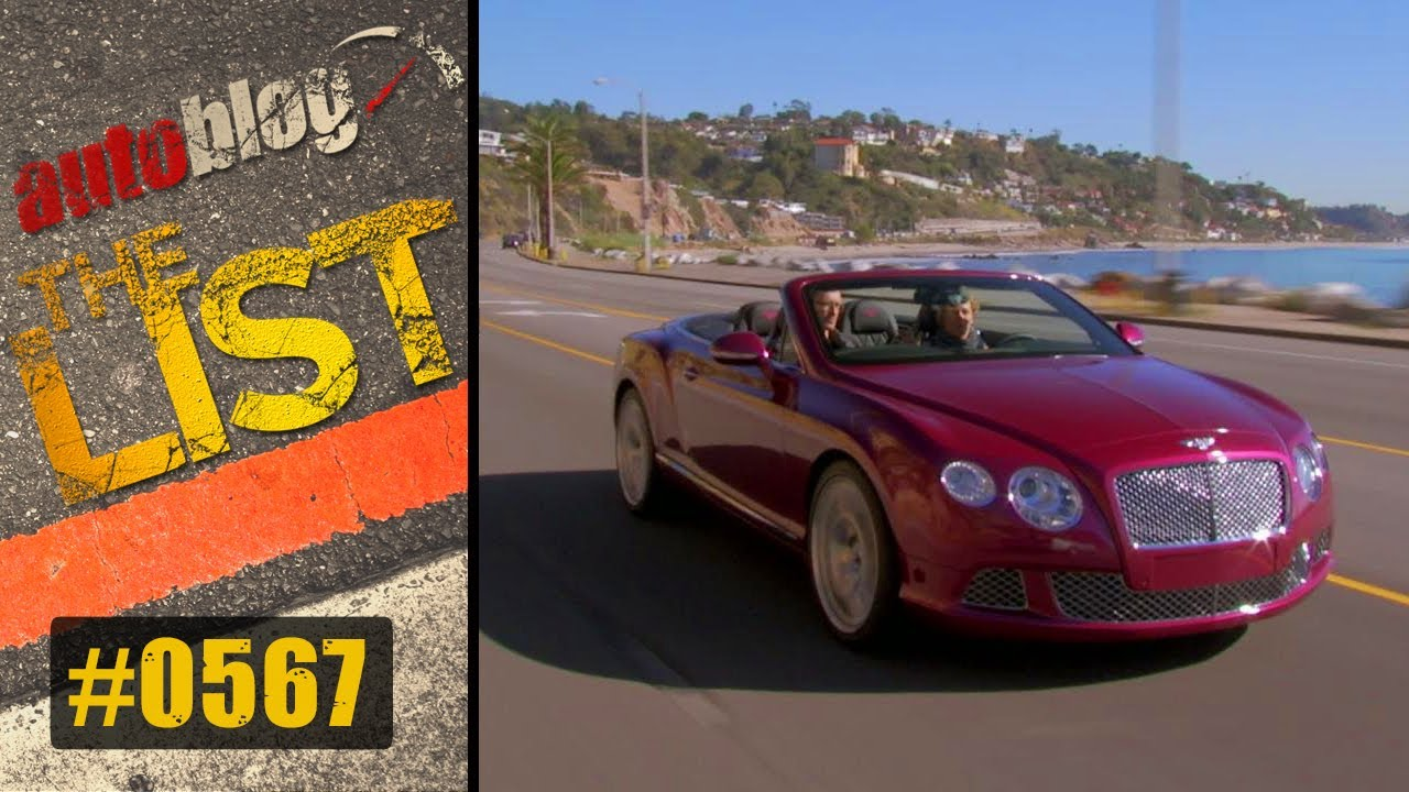 Drive the PCH | The List | Autoblog