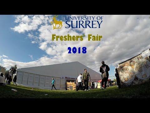 University of Surrey - Freshers' Fair 2018