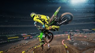 Monster Energy Supercross | Oakland Gameplay
