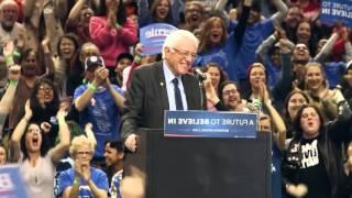 Portland rally put a bird on Bernie Sanders