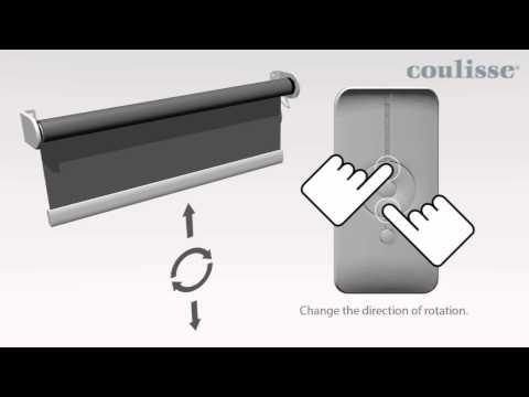 How to program roller motor ABC-05