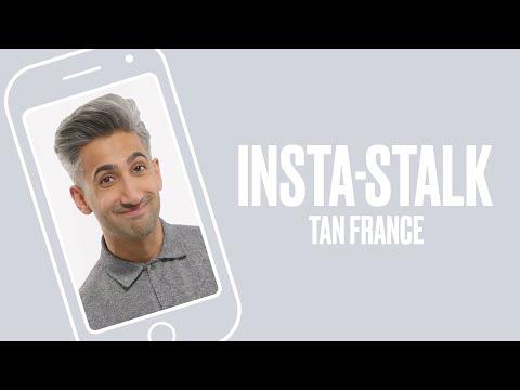 Queer Eye's Tan France InstaStalks The Fab Five  ELLE