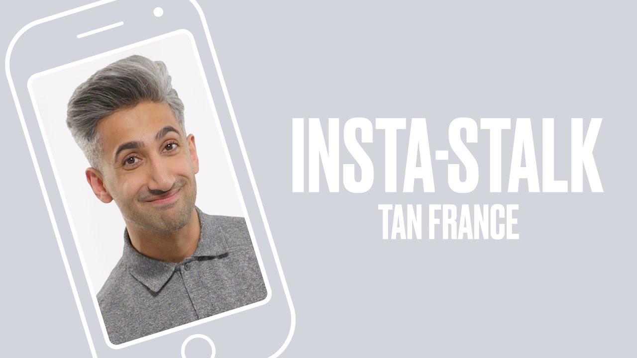Queer Eye's Tan France Insta-Stalks The Fab Five | ELLE