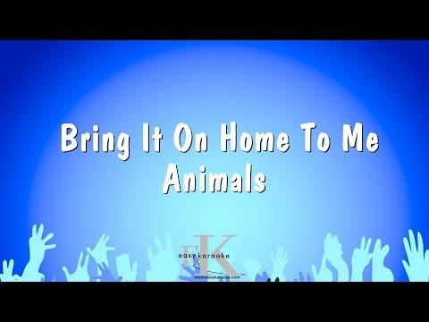 Bring It On Home To Me - Animals (Karaoke Version)