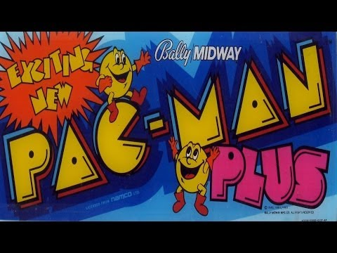 Pac-Man Plus (Arcade)