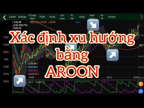 Xác định xu hướng thị trường nhờ Aroon thật đơn giản   Aroon   chứng khoán việt
