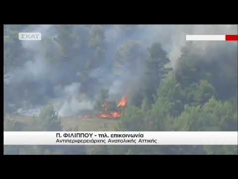 newsbomb.gr: Φωτιά Κάλαμος - Αναζωπύρωση στο Καπανδρίτι